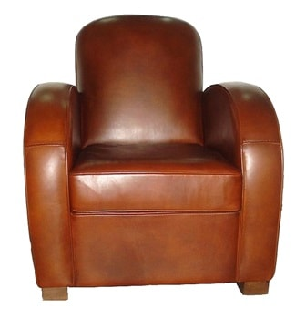 Fauteuil club rond