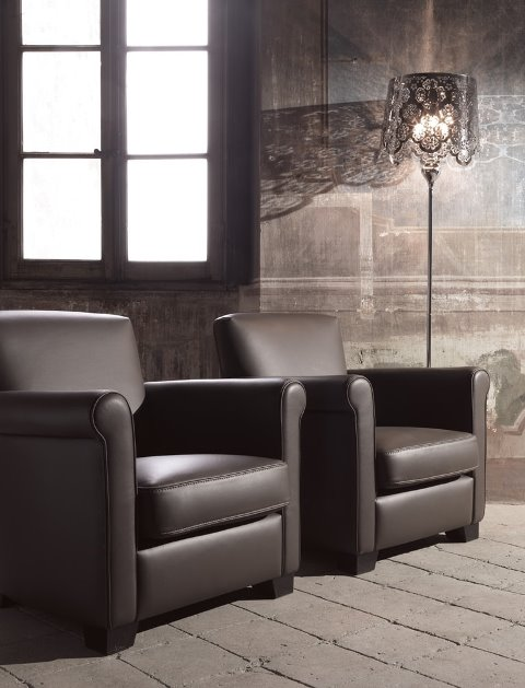 fauteuil club contemporain l 39 alliance de la modernit et. Black Bedroom Furniture Sets. Home Design Ideas